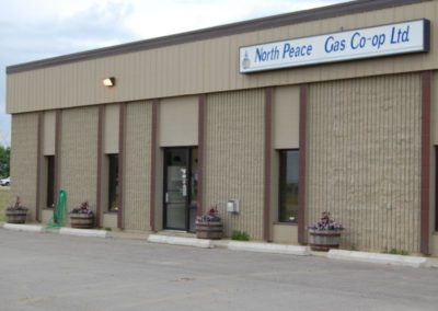 North Peace Gas Co-op Head Office, Fairview, Alberta
